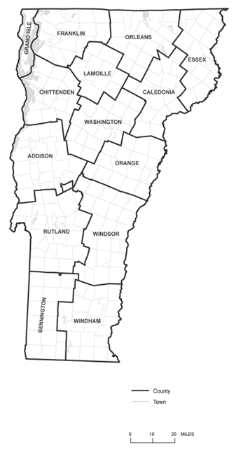 Vermont Counties - Ann Swanson Real Estate